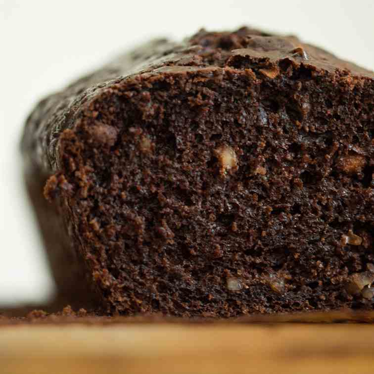 Chocolate Olive Oil Zucchini Bread