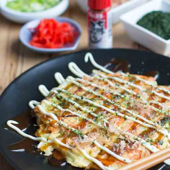 Japanese Okonomiyaki recipe