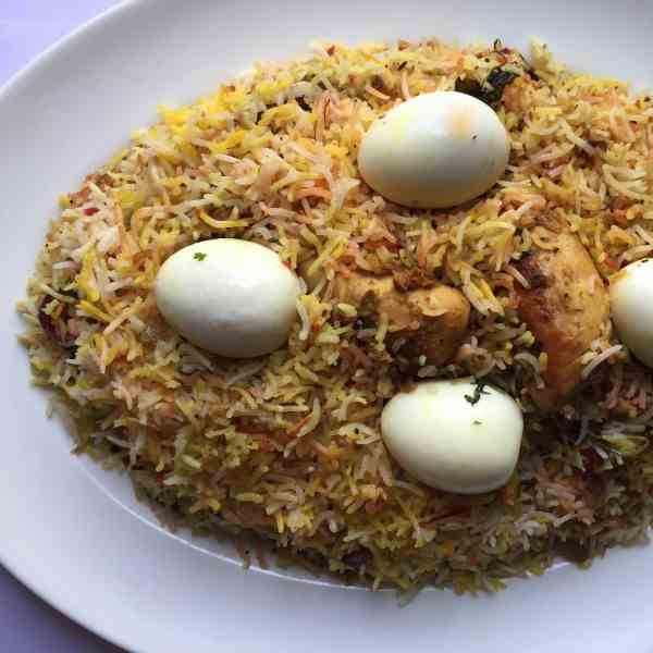 My Hyderabadi Dum Chicken Biryani