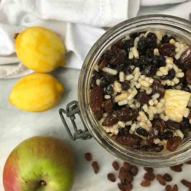 Easy Vegetarian Mincemeat