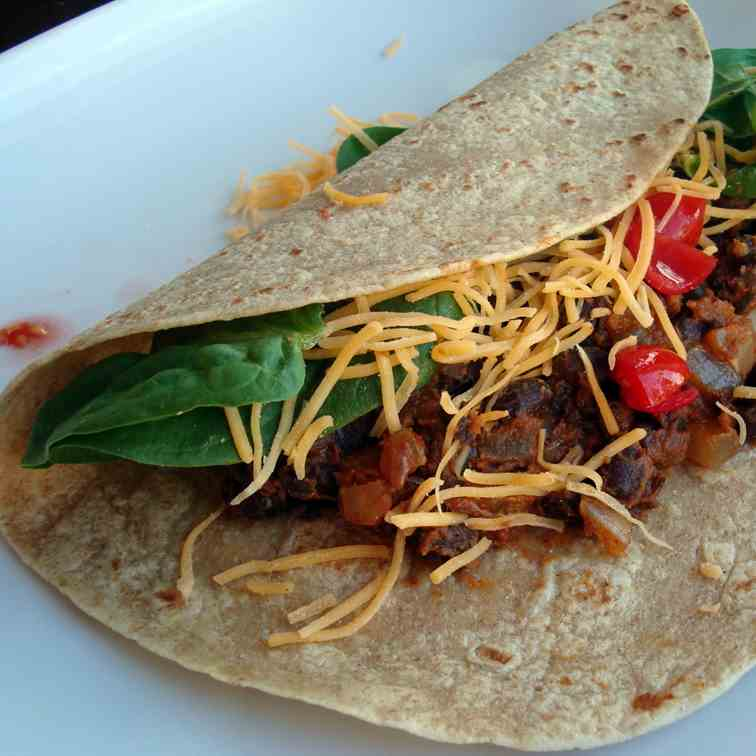 Chipotle Black Bean Tacos