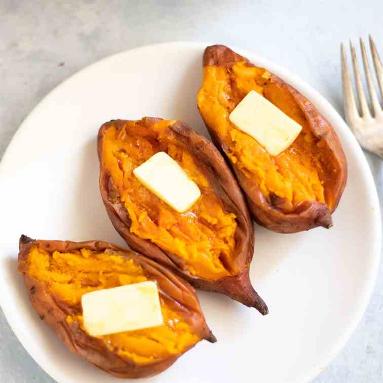 How to cook sweet potatoes in instant pot
