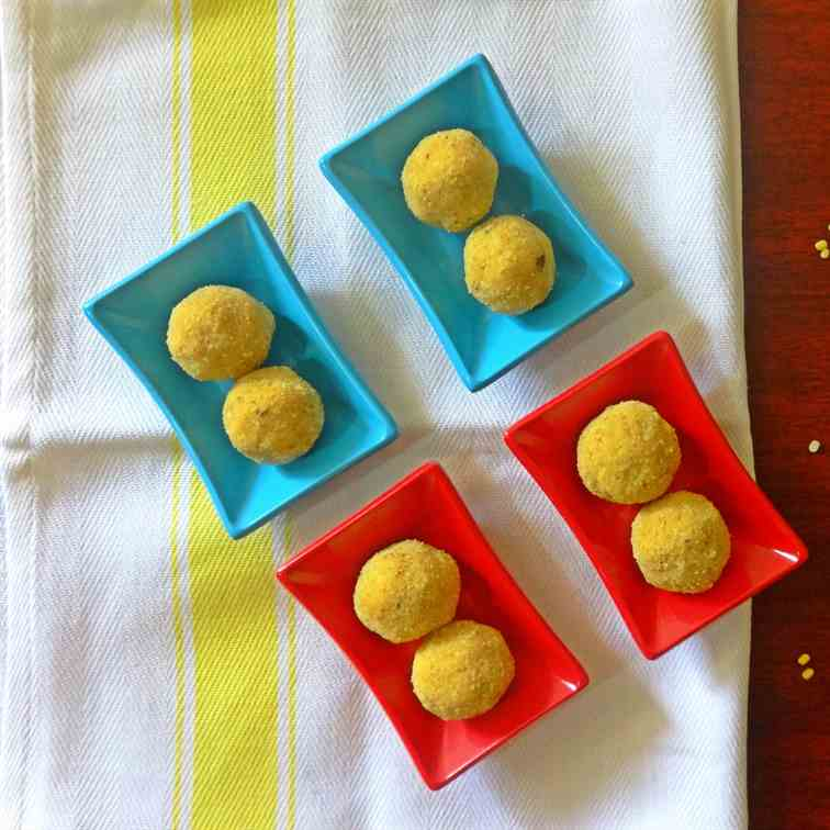 Moong Dal (Split Green gram) Ladoo Recipe