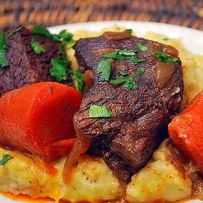 Braised Boneless Short Ribs