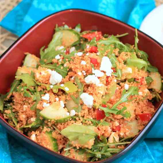Cous Cous Salad with Feta - Mint