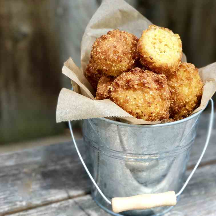 Hushpuppies With Maple Butter