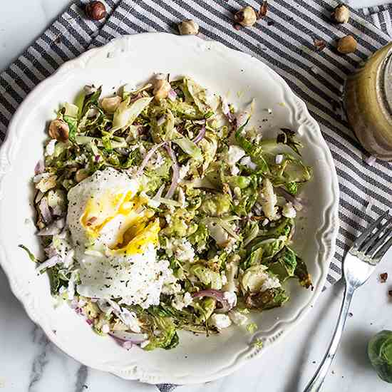 Brussels Sprouts Breakfast Bowl