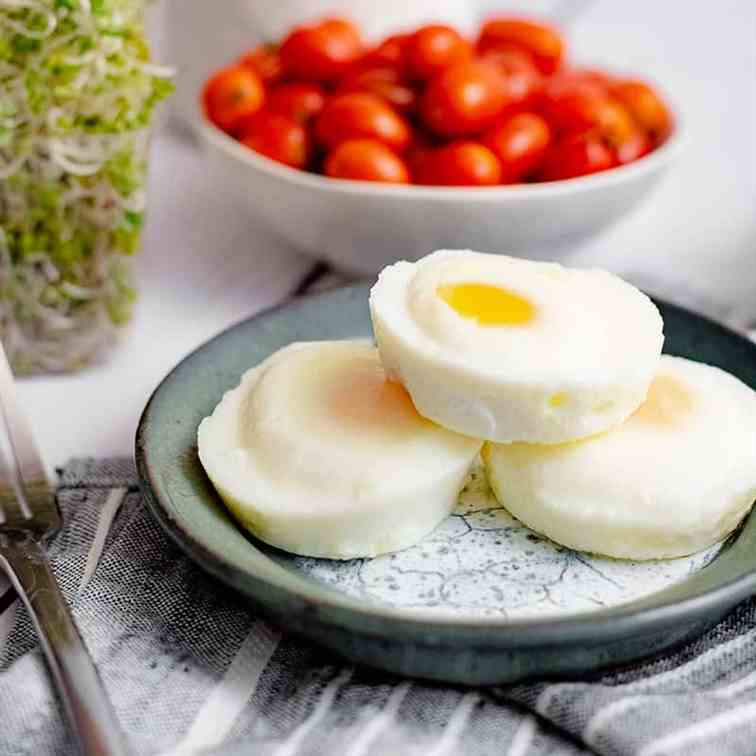 Perfect Oven Poached Eggs
