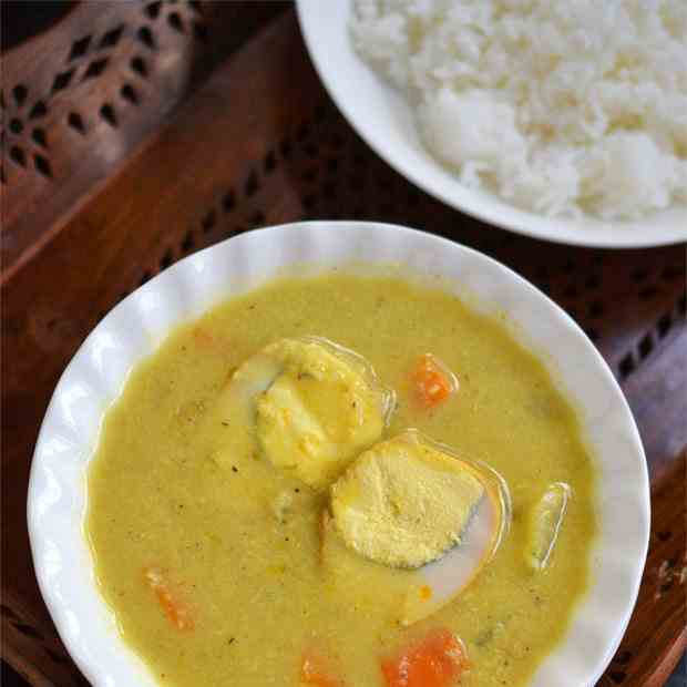 Egg Sothi | Egg Curry with Coconut