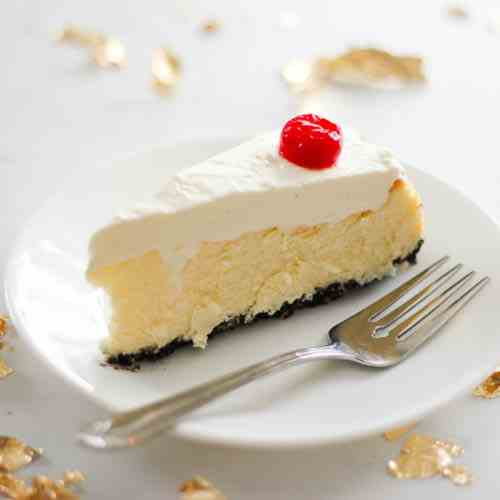 Chocolate Cherry Coconut Cheesecake
