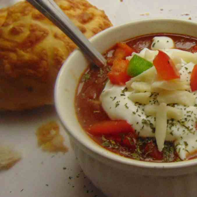 Home-style Crock-pot Chili
