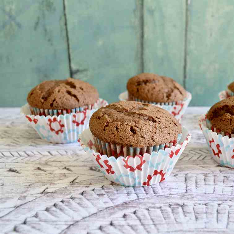 Chocolate Chip Mint Muffins