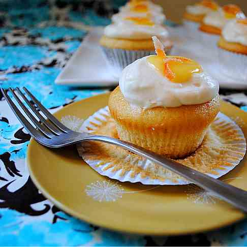 Grapefruit Cupcakes