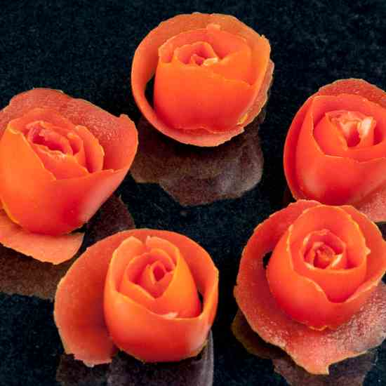 How to make Tomato Roses