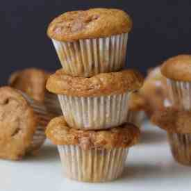 Mini Pumpkin Cinnamon Chip Muffins