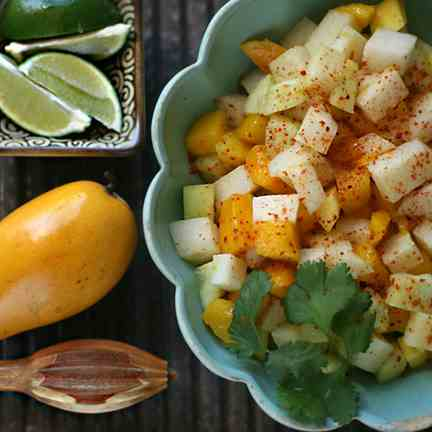 Mango, Jicama, and Cucumber Salad