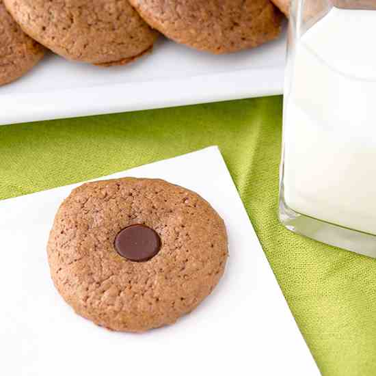 Almond Butter Button Cookies