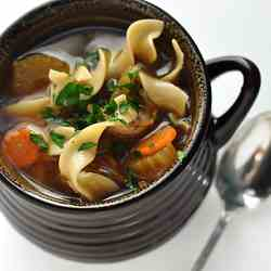Winter Chicken Noodle Soup