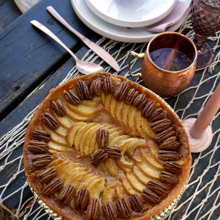 Apple - Frangipane Pie Recipe