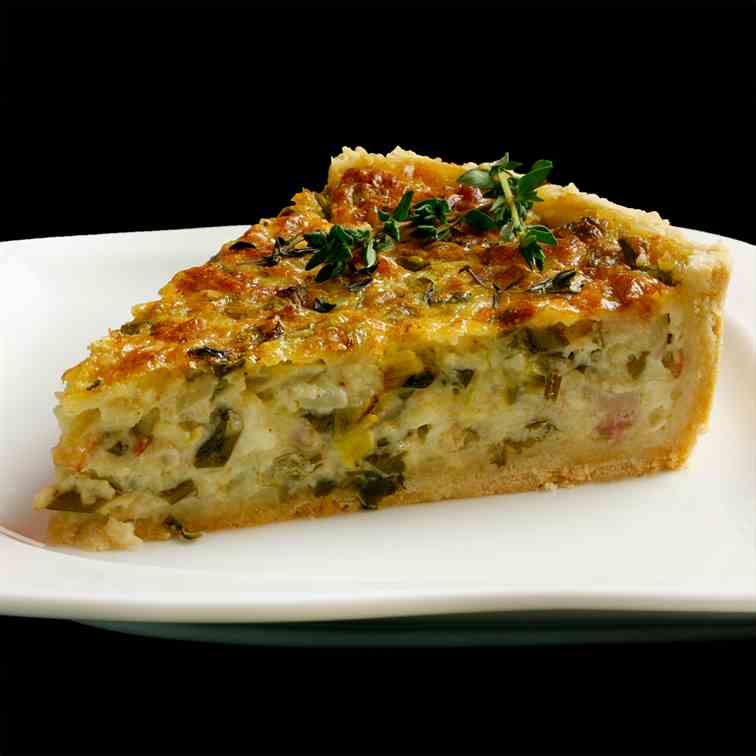 Two Cheese Quiche