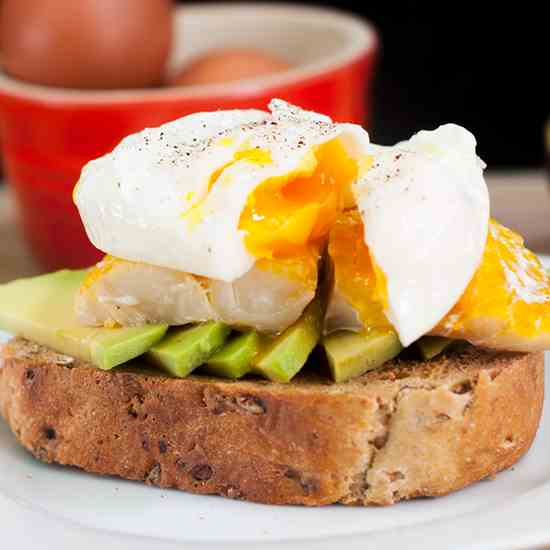 Avocado Smoked Haddock and Poached Egg