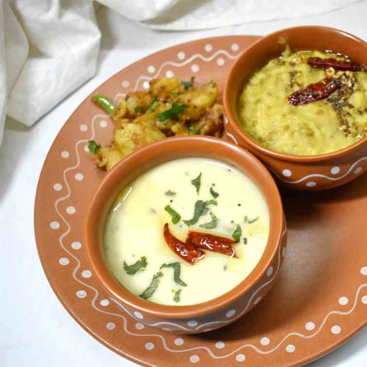 Gujarati Kadhi Recipe - Sweet And Spicy Gu