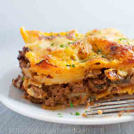 Lasagne Without Ricotta