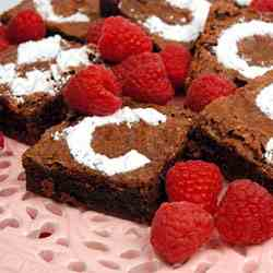 Chocolate Velvet Brownies