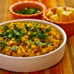 Lemony Yellow Split Peas