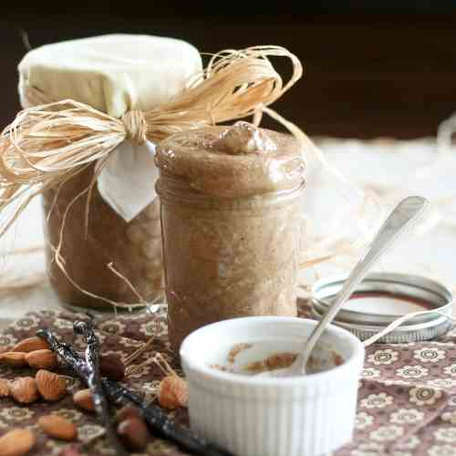 Vanilla Almond Hazelnut Butter