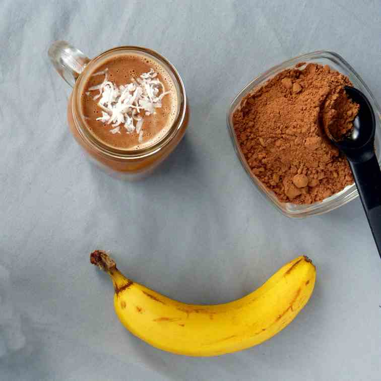 Mood Boosting Raw Cacao Smoothie