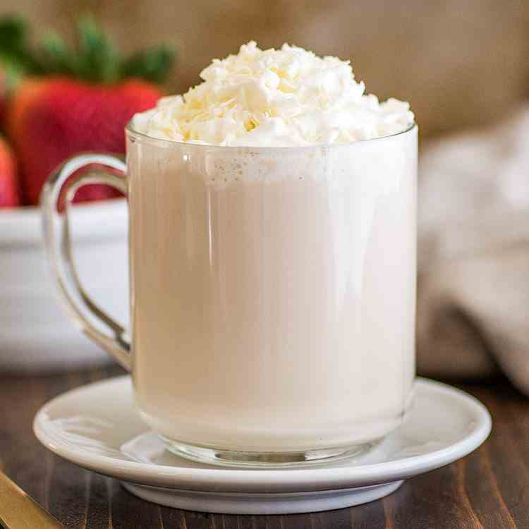 Homemade White Chocolate Mocha Recipe