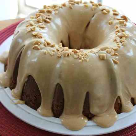 Double Peanut Butter Pound Cake