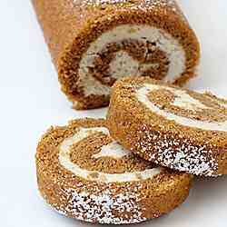 Double Ginger Pumpkin Roll