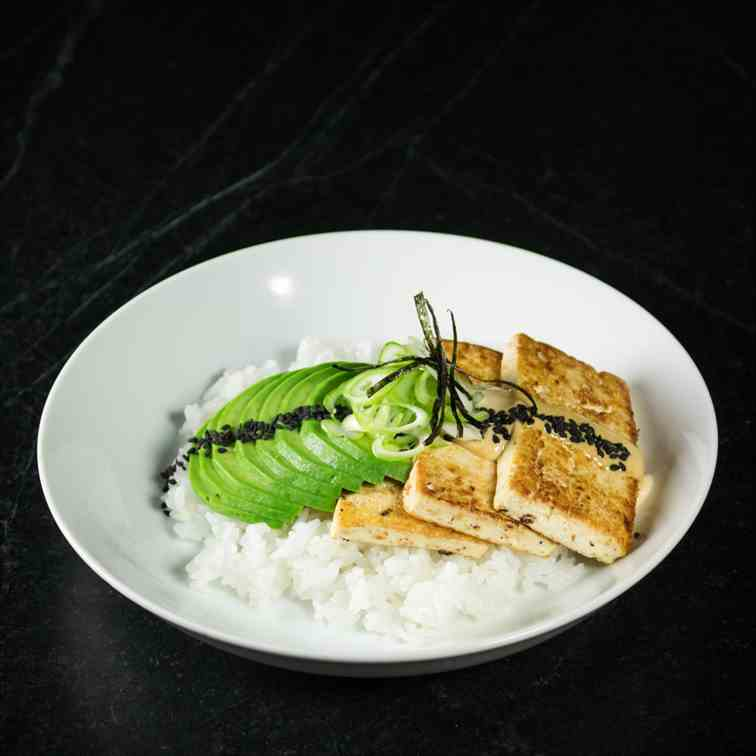 Garlic - Ginger Tofu