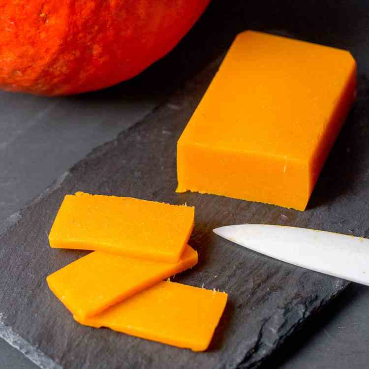 Paleo Vegan Pumpkin Cheese
