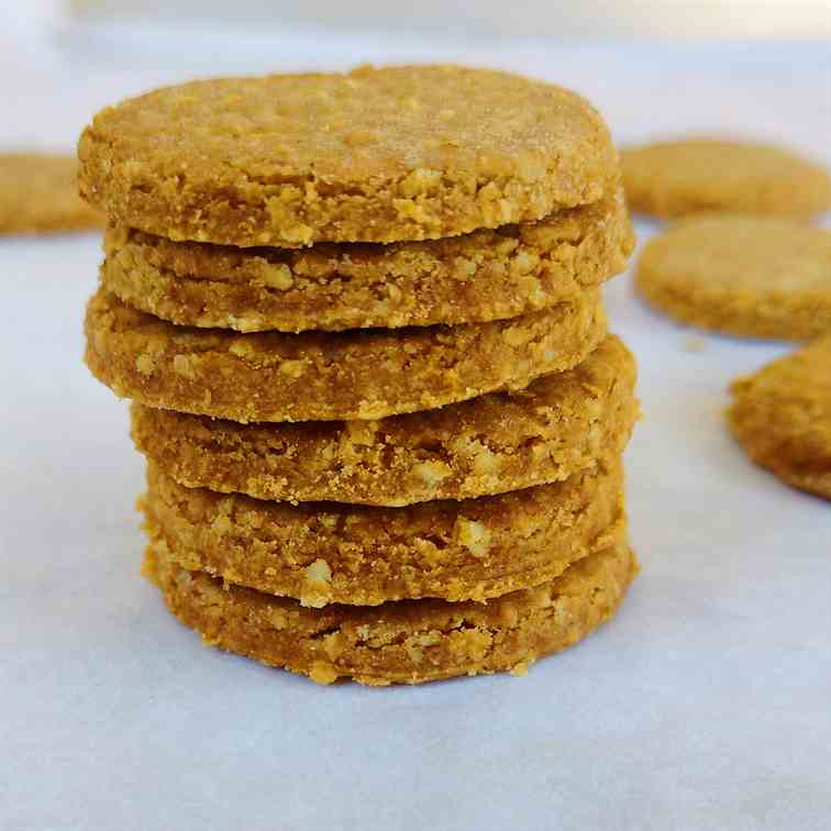 Wholewheat digestive biscuits