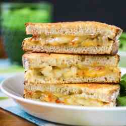 Parmesan Crusted Grilled Chicken & Cheese