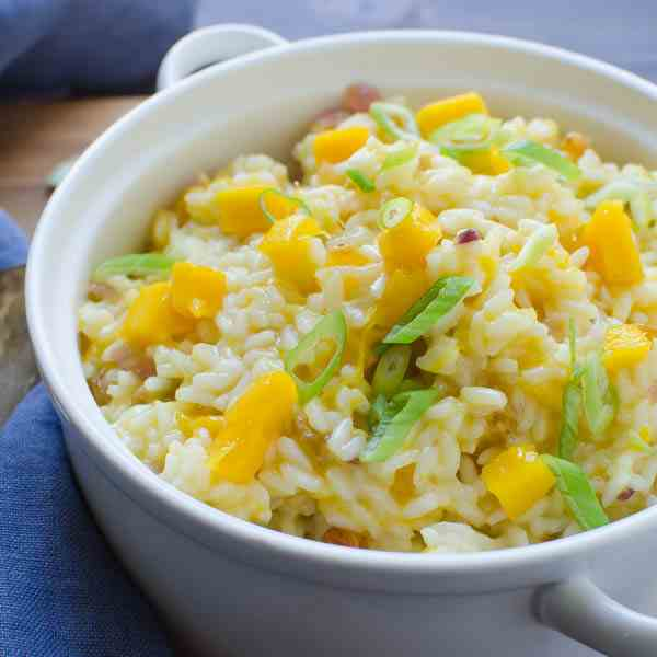 Creamy Coconut Mango Rice