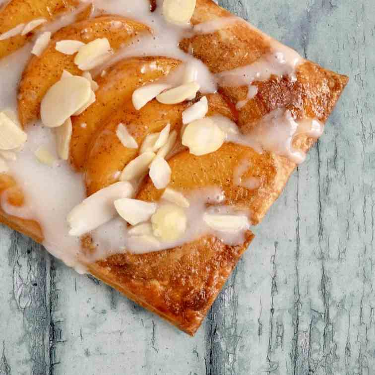 Peach - Almond Tarts