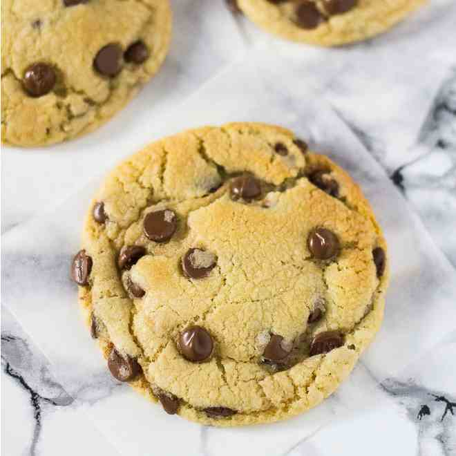 My Favourite Chocolate Chip Cookies