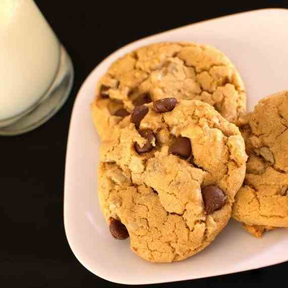 Sunflower Chocolate Chip Cookies