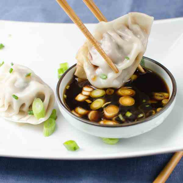 Asian Pork Dumplings