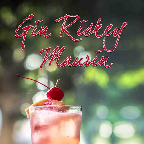 Gin Rickey Maurin Cocktail
