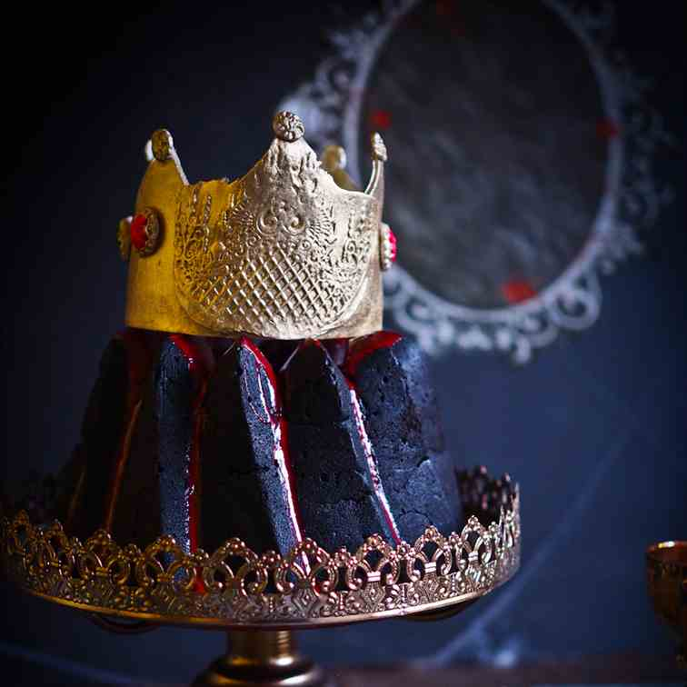Snow White's Evil Queen Surprise Bundt Cak
