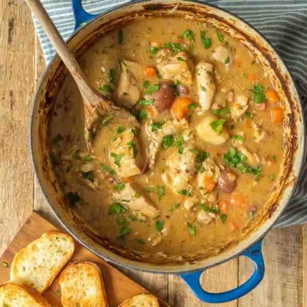 White Wine Chicken Stew