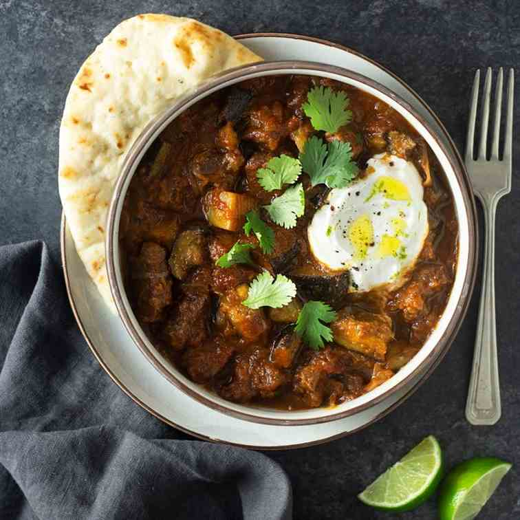 Indian Spiced Lamb Curry
