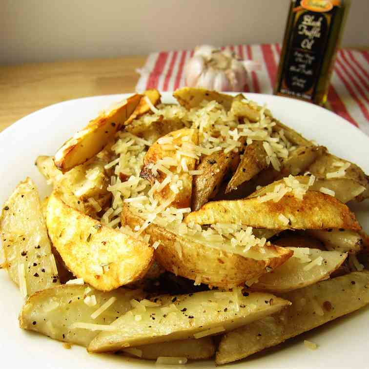 Parmesan Truffle Potato Wedges