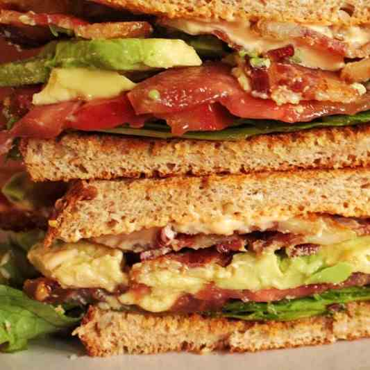 Double Smoked BLT With Avocado - Hot Mayo
