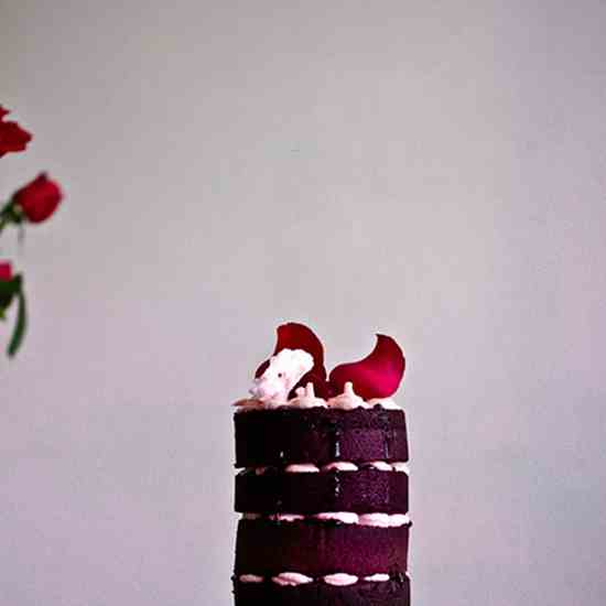 Beetroot - Raspberry Cake